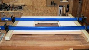 gluing table edge banding