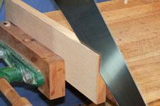 hand resawn wood