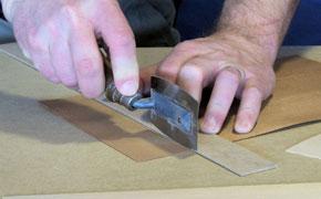 crosscut veneer saw