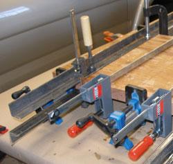 angle iron clamping cauls