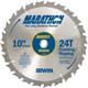 Irwin® Marathon® 10'' x 24T Framing/Ripping Blade