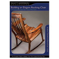 Build an Elegant Rocking Chair, 4 Disk DVD Set