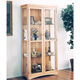 U-Bild Craftsman Curio Cabinet Plan