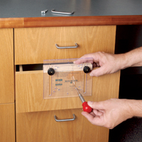 Drawer Pull JIG IT and Center Punch