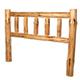Pine Headboard - Log Furniture Kit