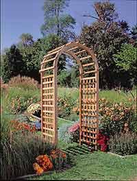 Western Red Cedar Garden Arch Arbor