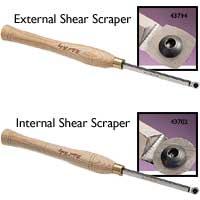 Robert Sorby 45° Shear Scrapers