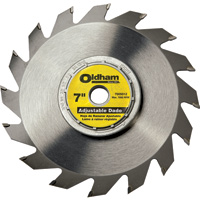 Oldham 7'' Adjustable Dado Blade - Rockler Woodworking Tools