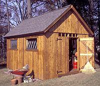 Colonial Barn Plans